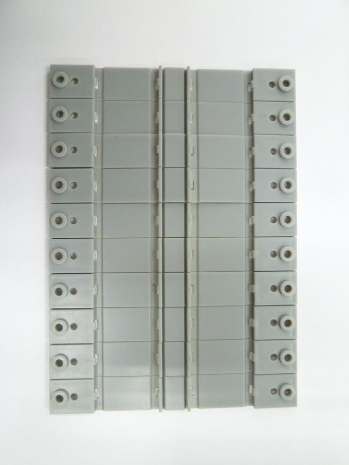 A007 複線架線柱ベース (10個入り)