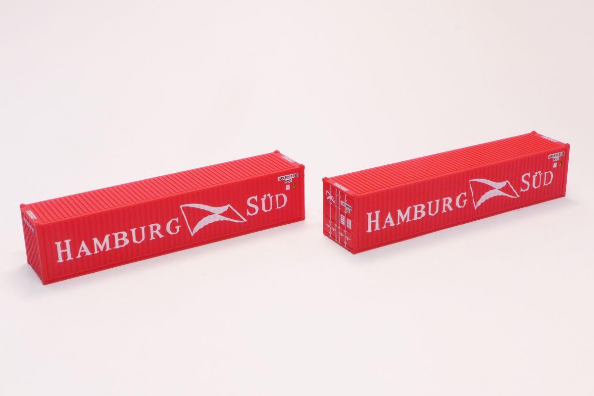 A101-10 HAMBURG SUD 40ft 海上コンテナ (2個入り)