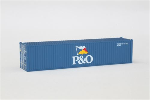 A101-7 P&O 40ft 海上コンテナ (2個入り)
