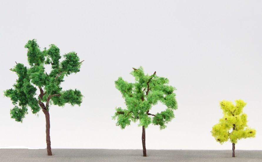 S001 リアルZサイズツリーセット #01 常緑樹