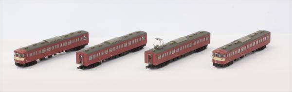 T023-2  415系旧塗装タイプ 4両基本セット