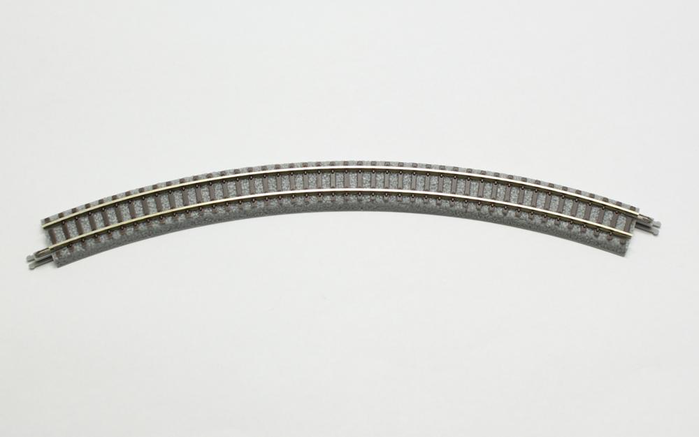 R004 クラシックトラック 曲線レール R220-45°(4本)