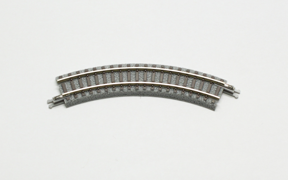 R010 クラシックトラック 曲線レール R95-45°(4本)