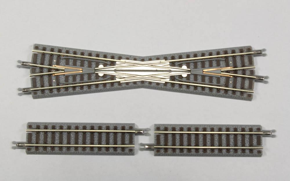 R020 クラシックトラック 13°クロスレール (1本) 53.6mm補助レール付き (2本)