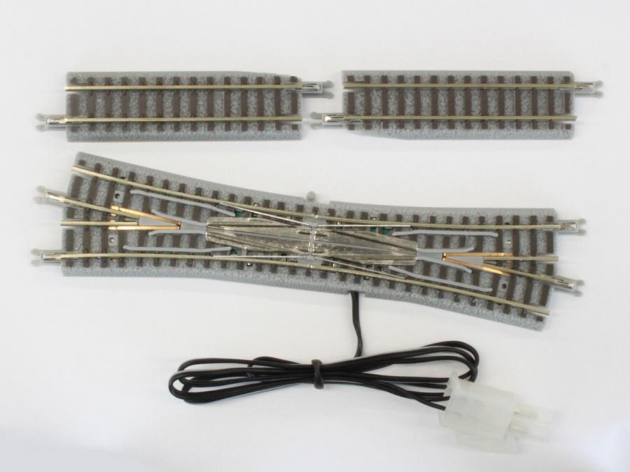 R035 電動/手動 ダブルスリップポイントレール 右