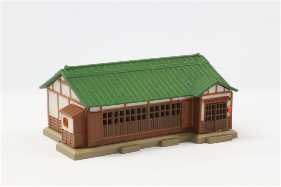 S027-2 トタン屋根民家 緑