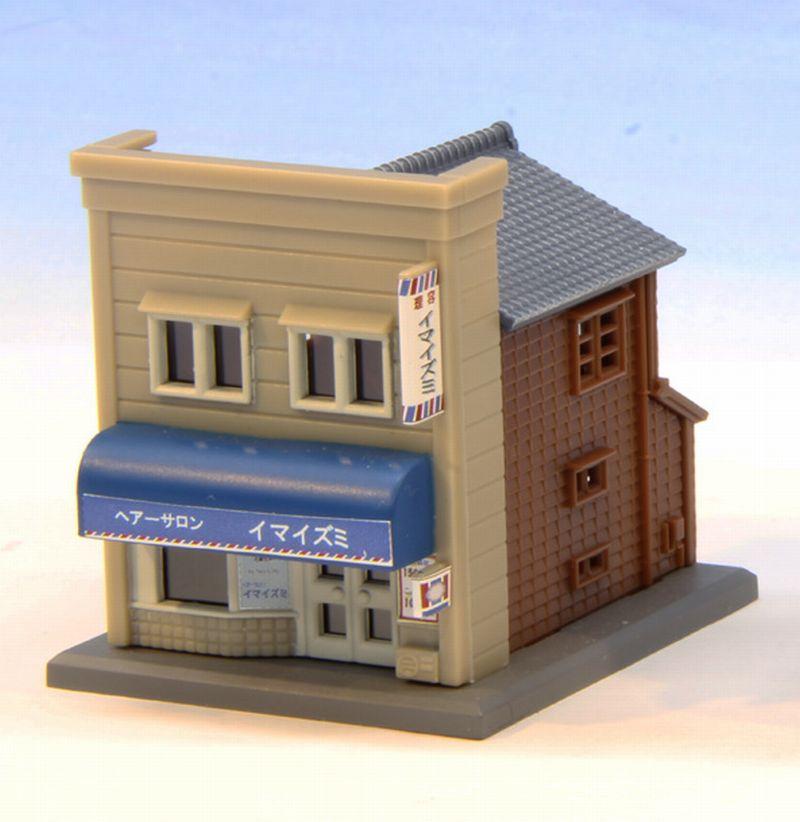 S039-1 商店A ベージュ/青
