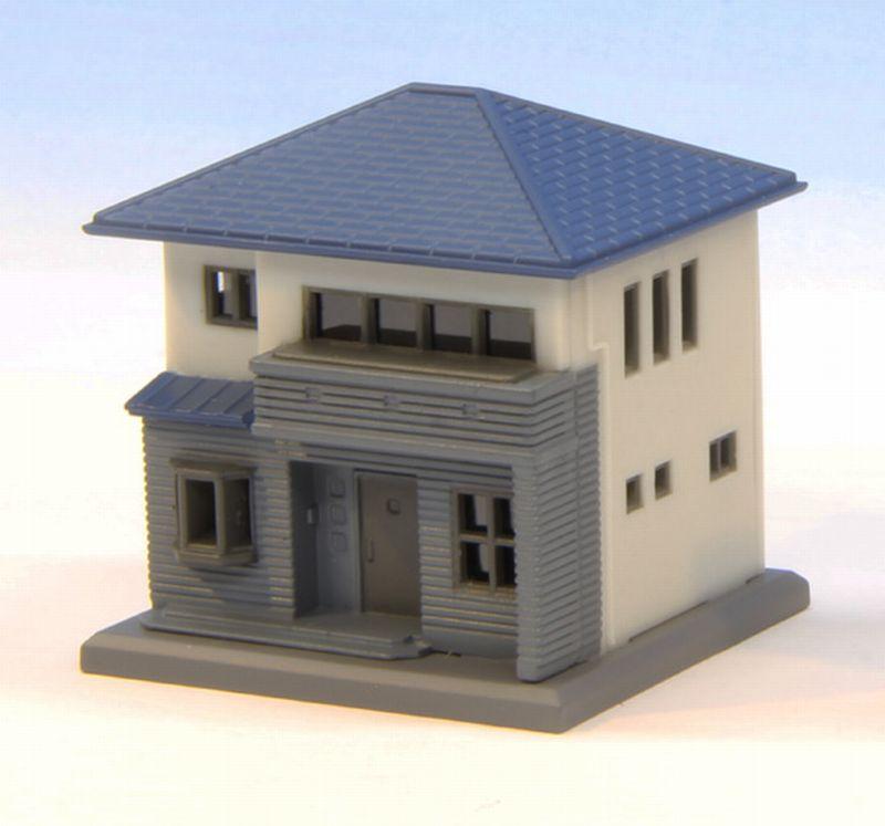 S044-1 二階建住宅C 白