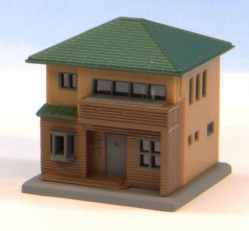 S044-2 二階建住宅 茶