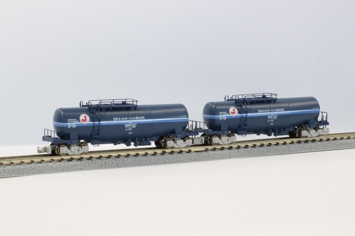 T004-2 タキ1000 日本オイルターミナル色(帯入り) 2両セット