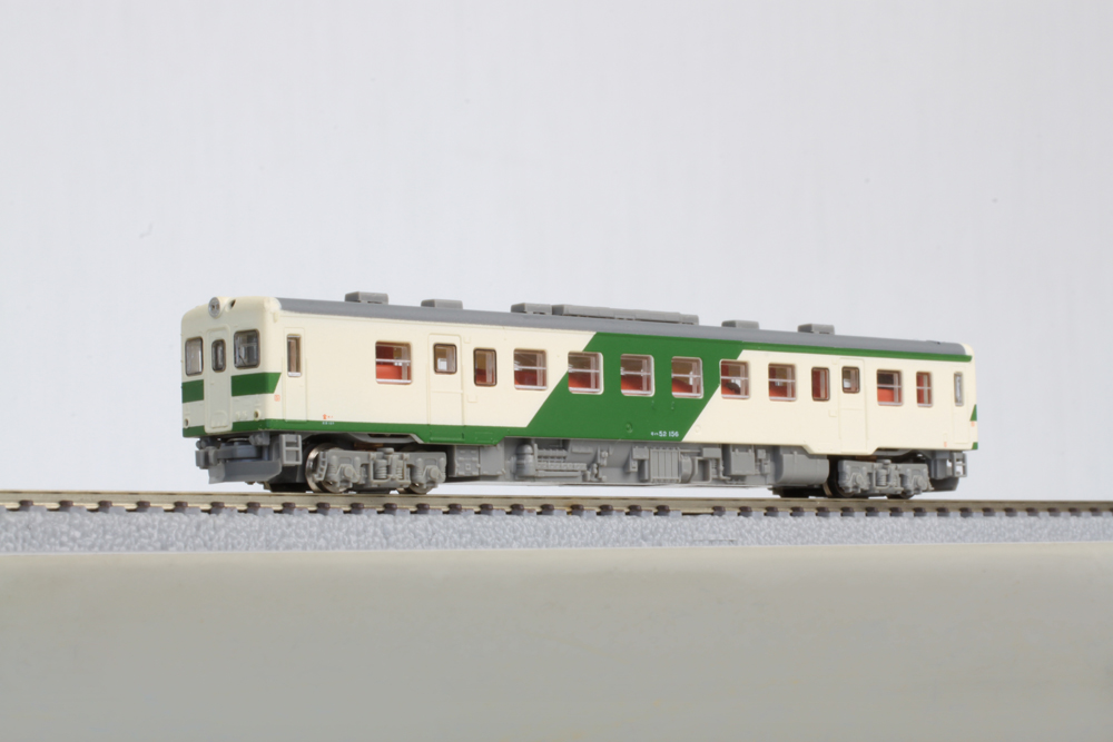 T009-3 キハ52形100番代 大糸線(越美北線)色