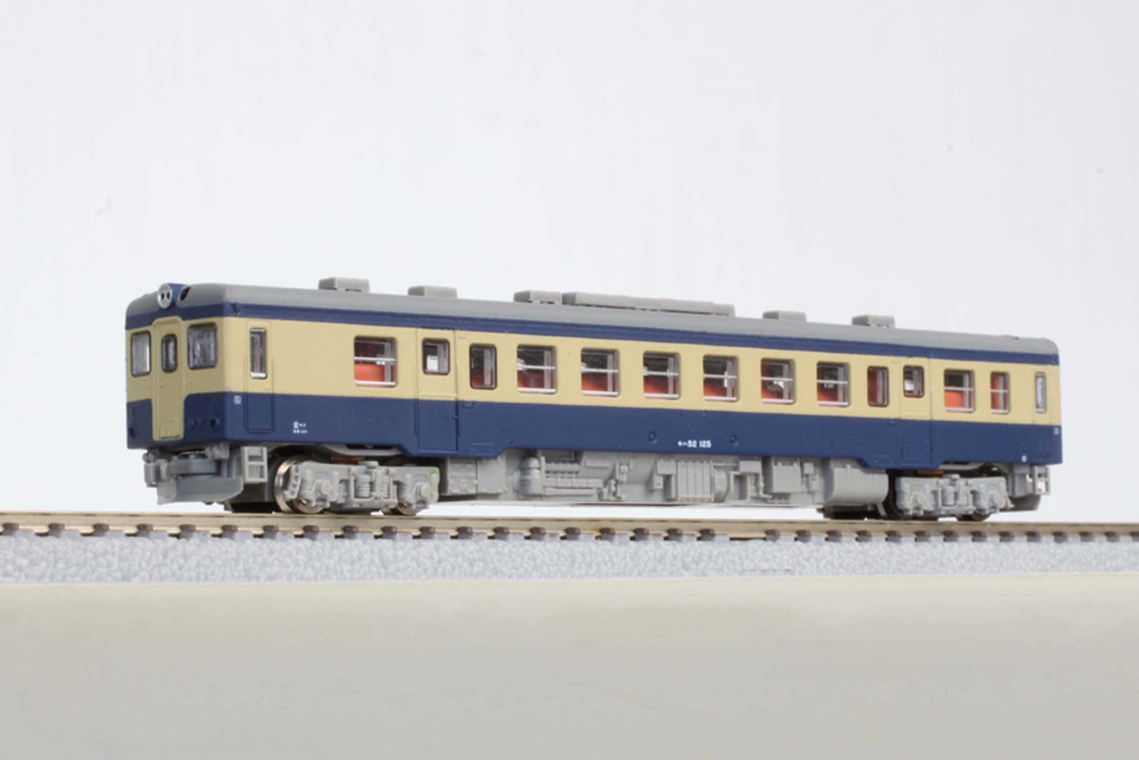 T009-4 キハ52形100番代 国鉄旧標準色