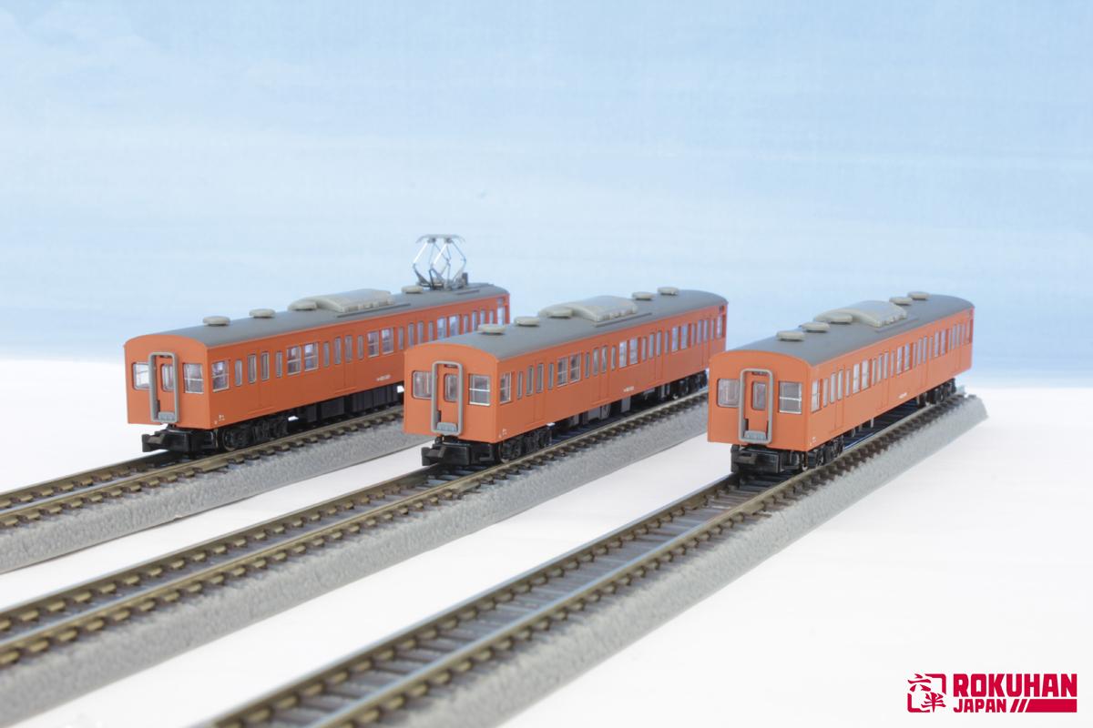 T022-8 国鉄103系 オレンジ 中央線タイプ 3両増結セット