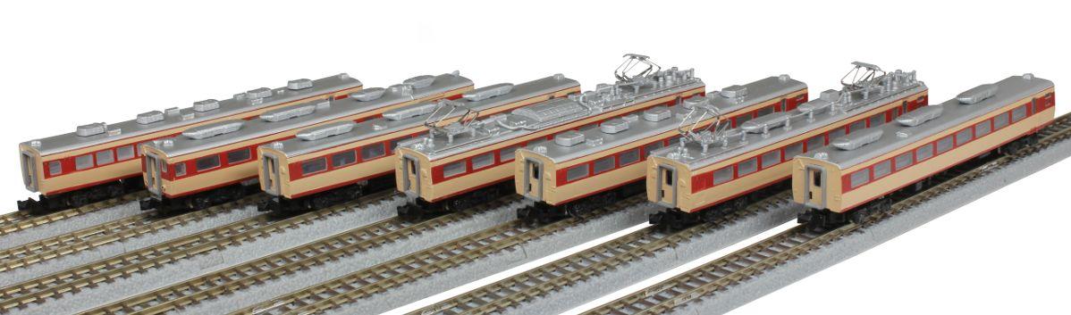 T030-2 国鉄485系特急形電車 初期形 ひばり 国鉄色 7両増結セット