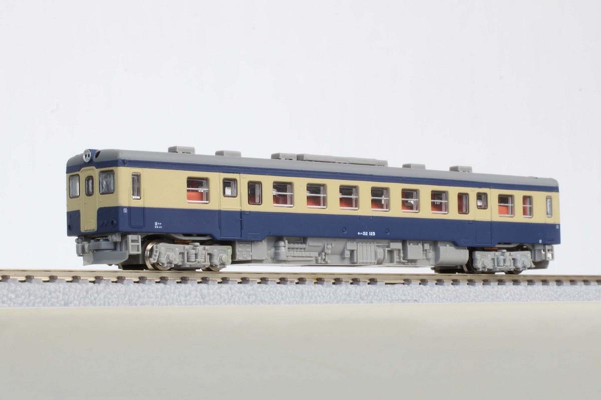 T009-6 キハ52形100番代 国鉄旧標準色 (トレーラー車)