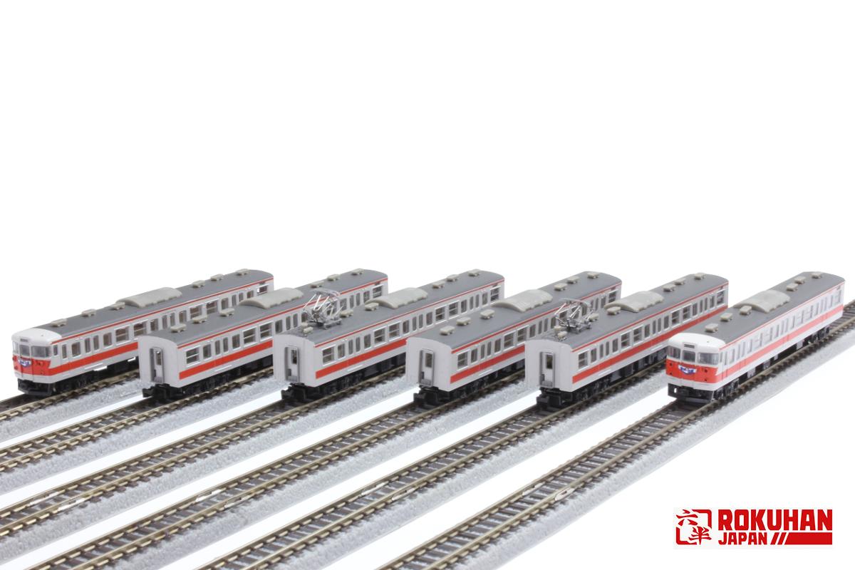 T001-4 国鉄113系2000番代 関西線快速色 6両セット