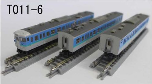 T011-6 115系1000番代 長野色 3両セット