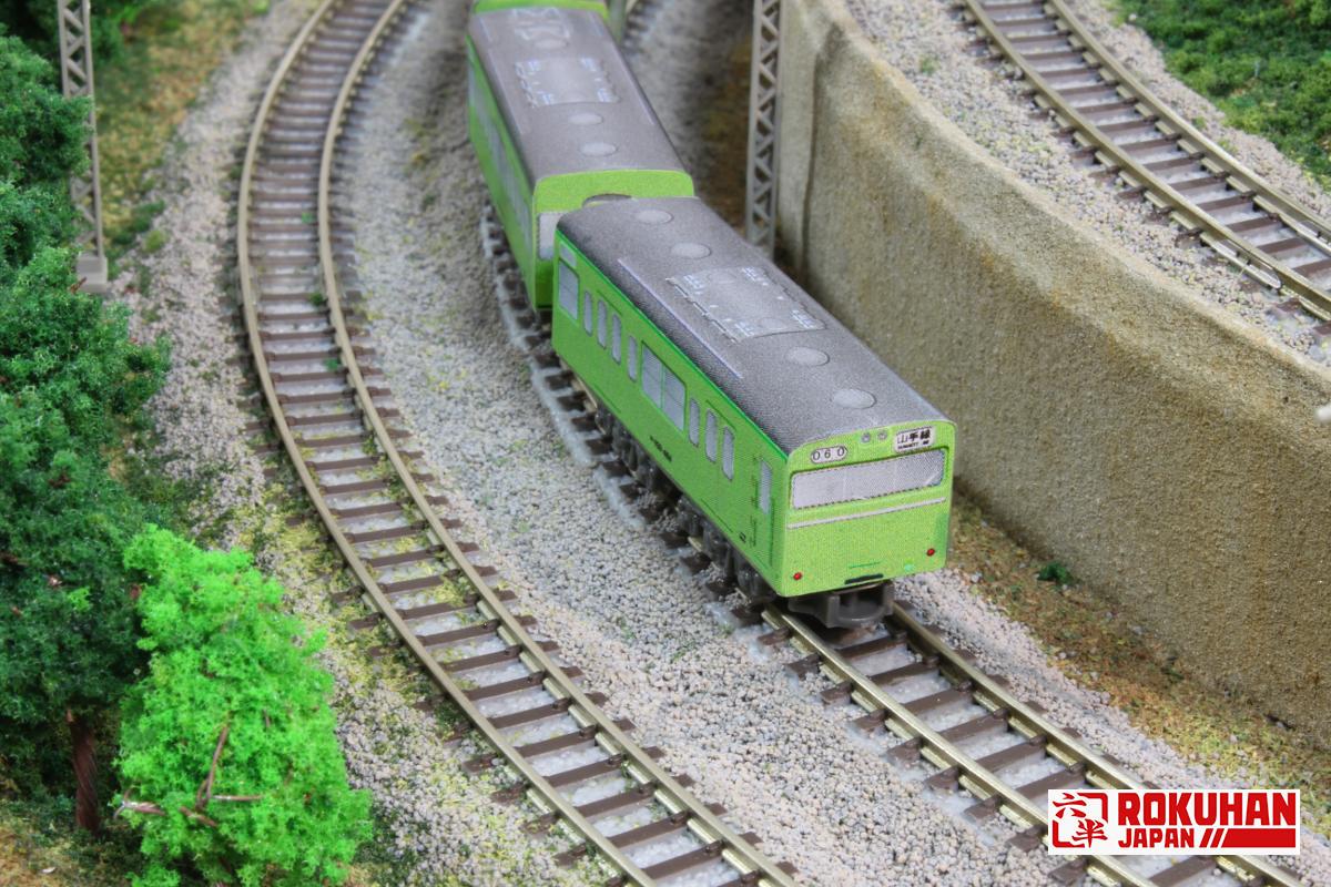 SA007-3 客車(ブルー)専用カスタムラベル 国鉄103系高運転台電車(ウグイス)