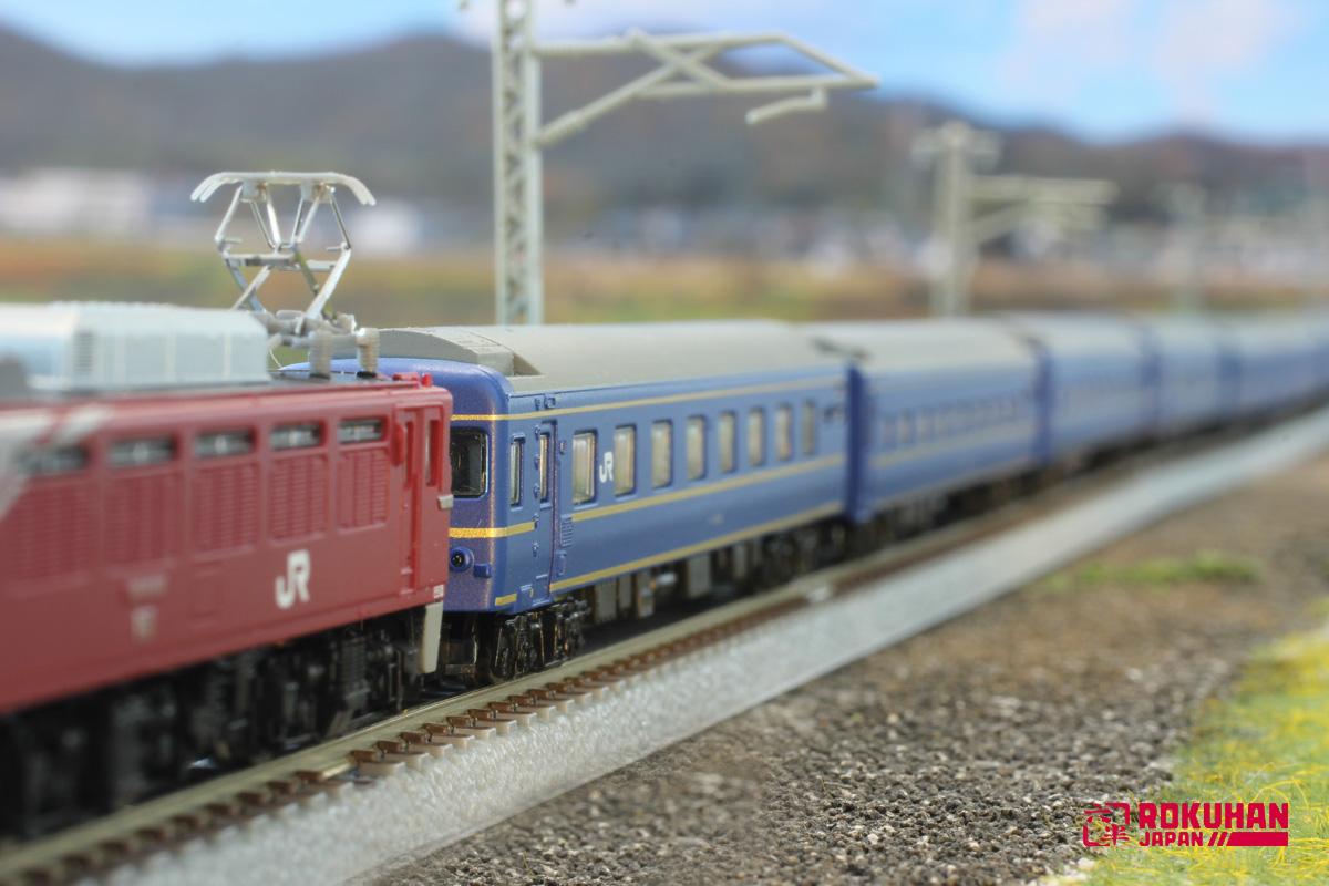 T010-3 24系25型 北斗星 JR東日本仕様 5両セット