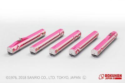 T013-7  500系 ハローキティ新幹線 5両増結セット