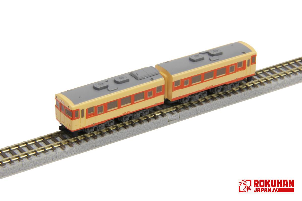 ST010-1 キハ58 国鉄急行色 2両セット