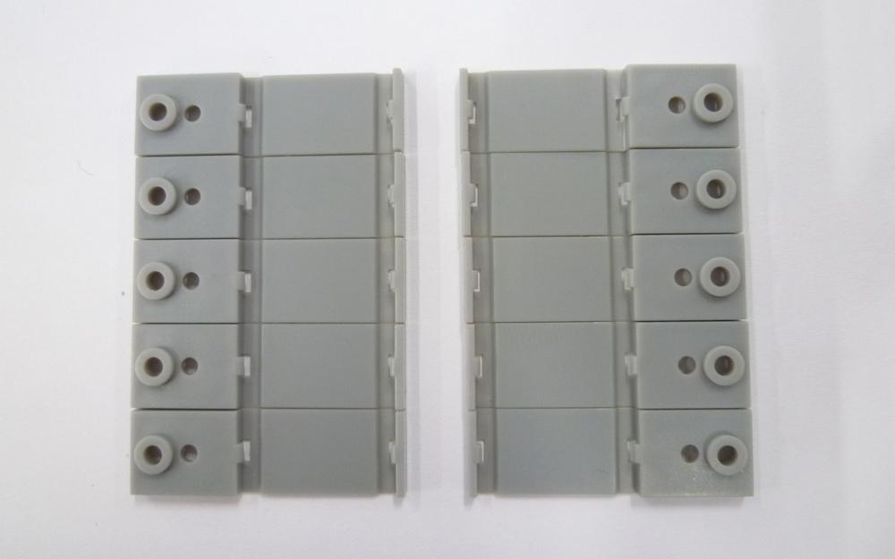 A006 単線架線柱ベース (10個入り)