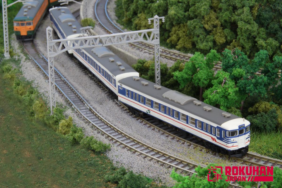T011-5 115系1000番代 旧新潟色 3両セット