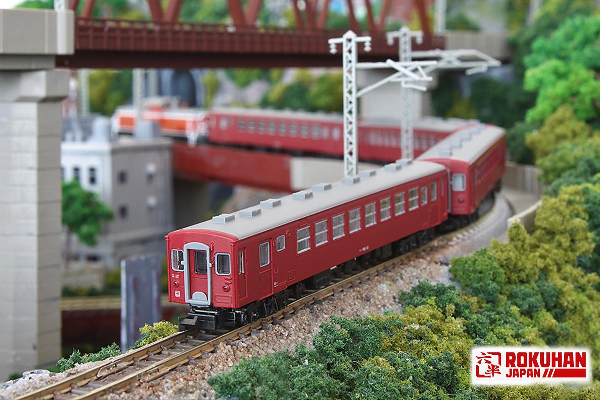 T014-5 50系客車0番代 オハフ50