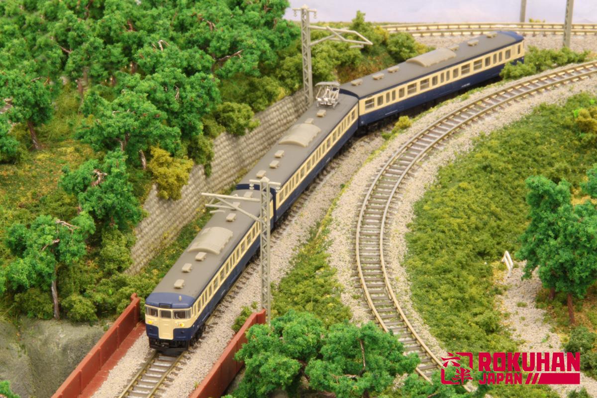 T011-3 115系1000番代 横須賀色 3両セット