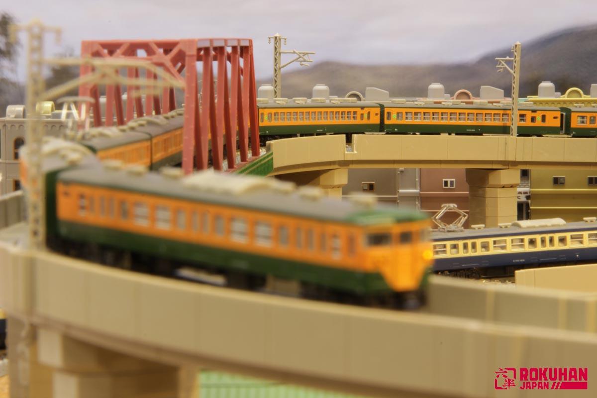 T001-3 国鉄113系2000番代 湘南色 2両増結セット
