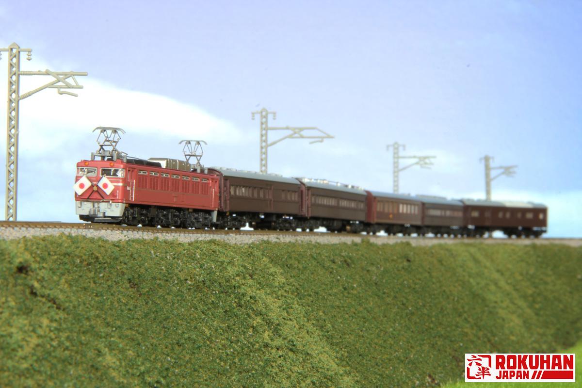 T015-5 国鉄EF81形電気機関車 81号機 お召し仕様