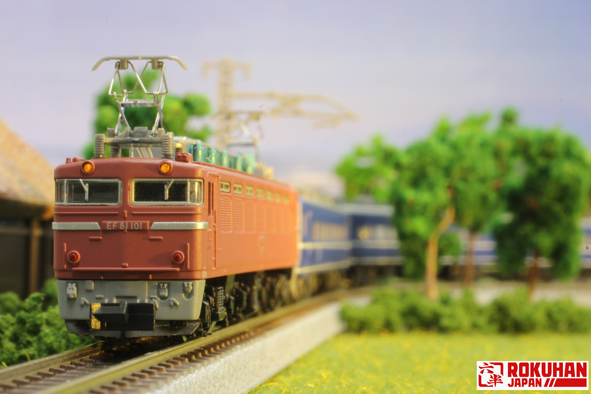 T015-2 国鉄EF81形電気機関車 一般色