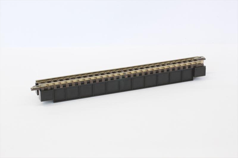 R072 デッキガーダー鉄橋 黒 110mm (レール付)