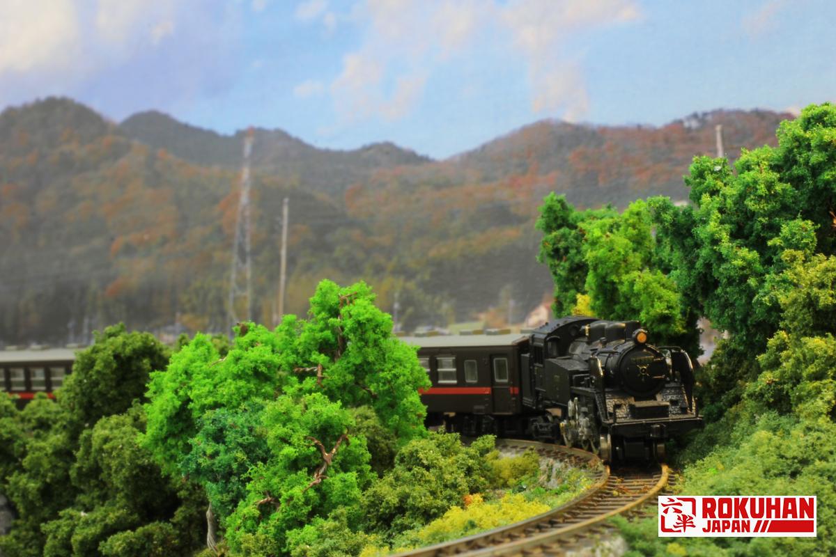 T019-2 C11蒸気機関車 325号機 もおか鐡道タイプ