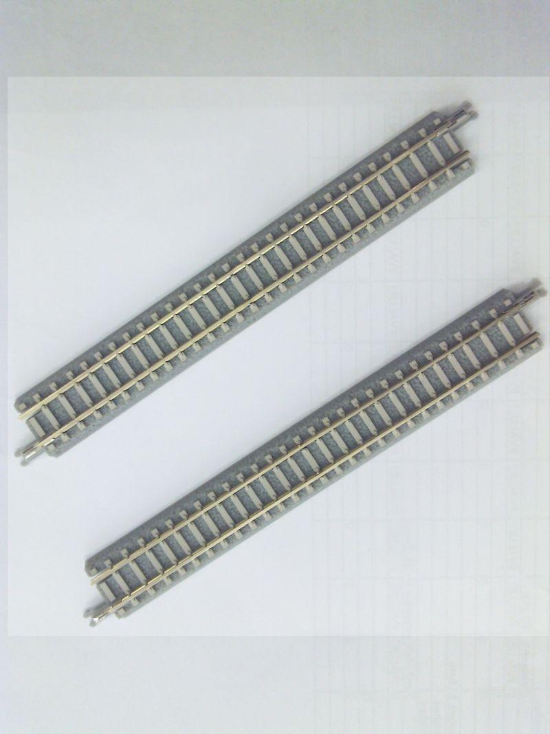 R038 PCトラック 直線レール112.8mm(2本)