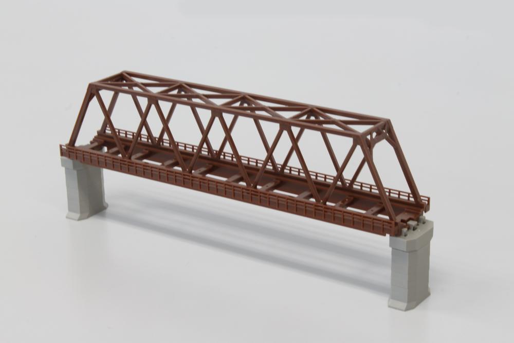 R061 単線トラス鉄橋 220mm 茶 (1本)