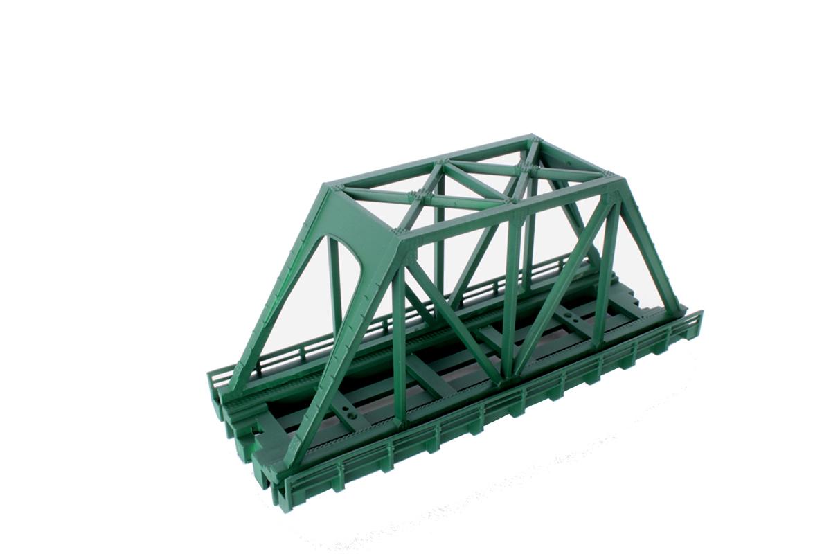R089 単線トラス鉄橋 (短)110mm 緑