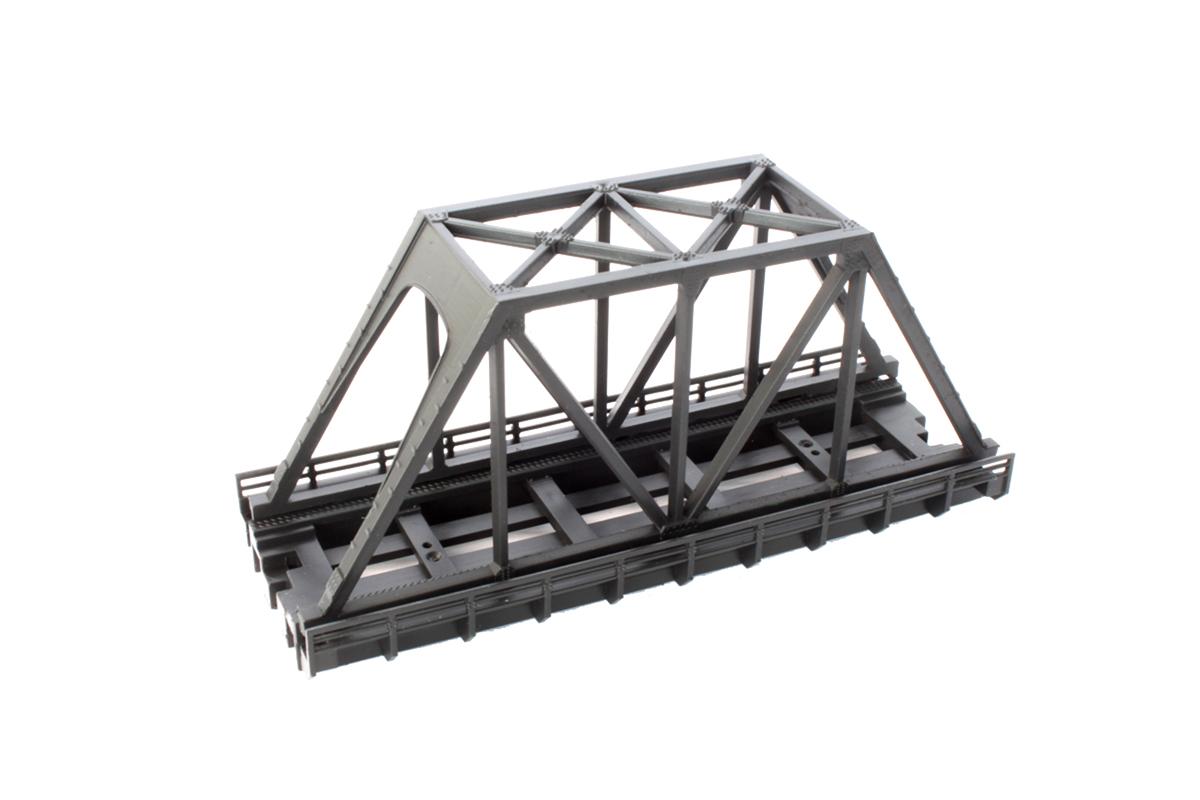 R090 単線トラス鉄橋 (短)110mm 黒