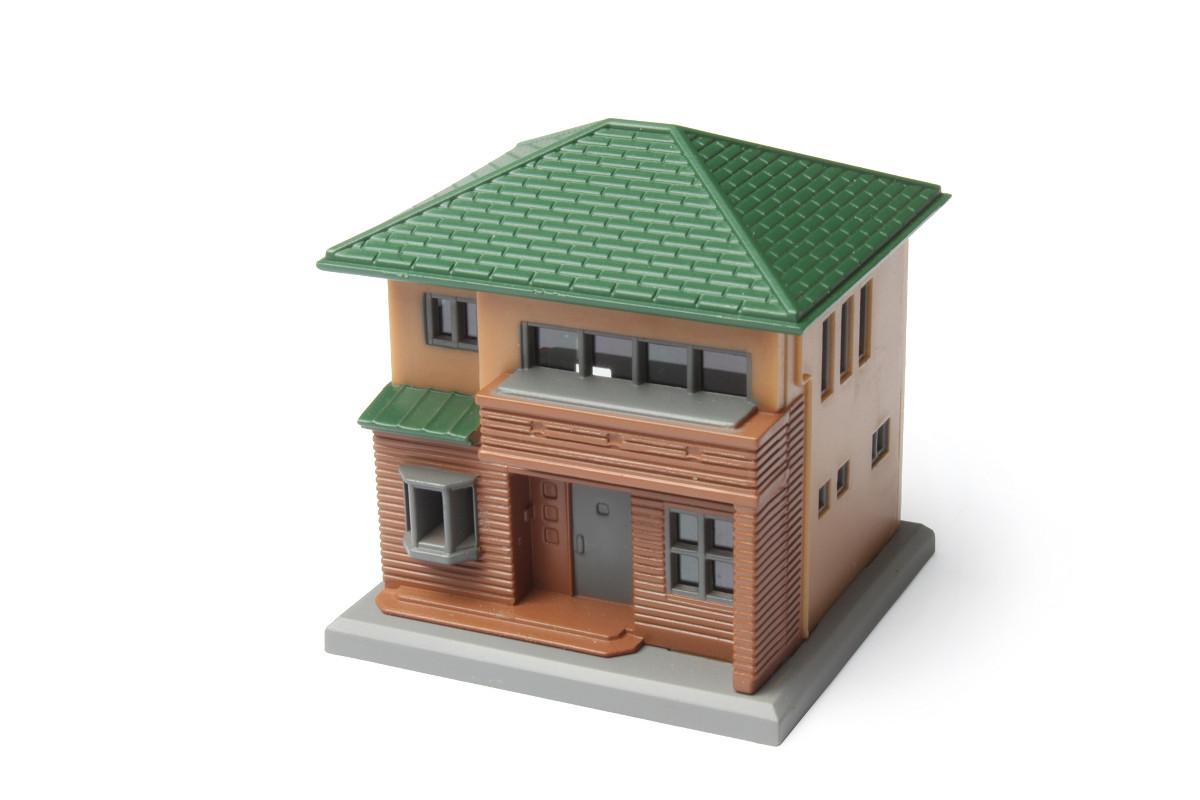 S044-2 二階建住宅C 茶