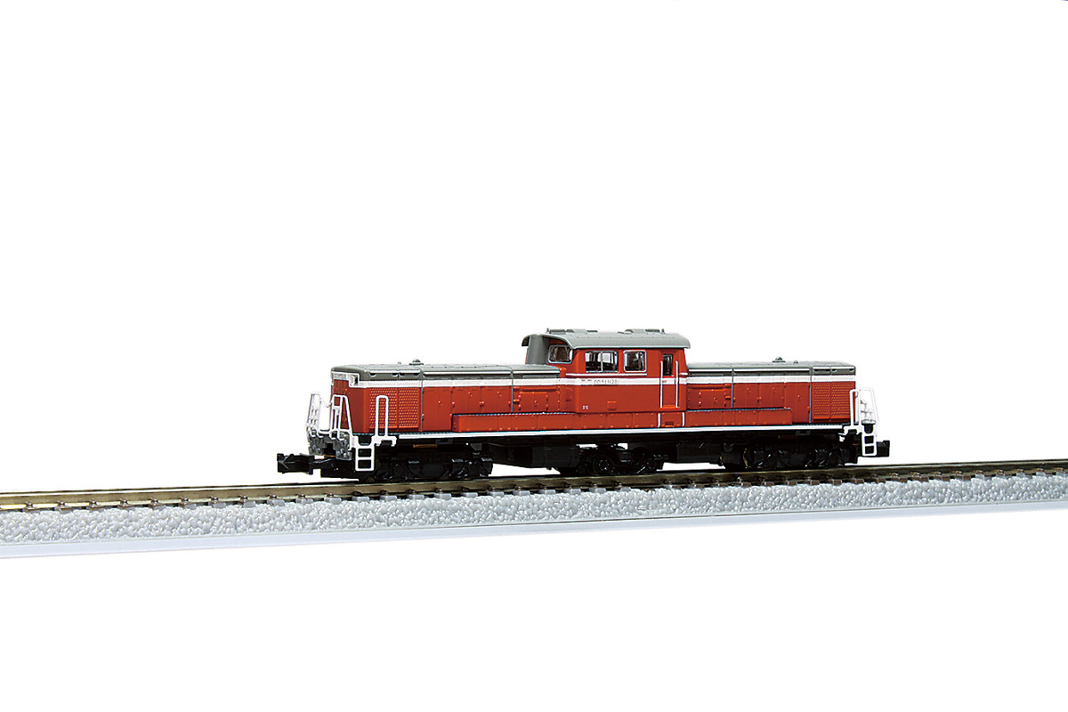 T002-7 DD51 1000 暖地形 国鉄色