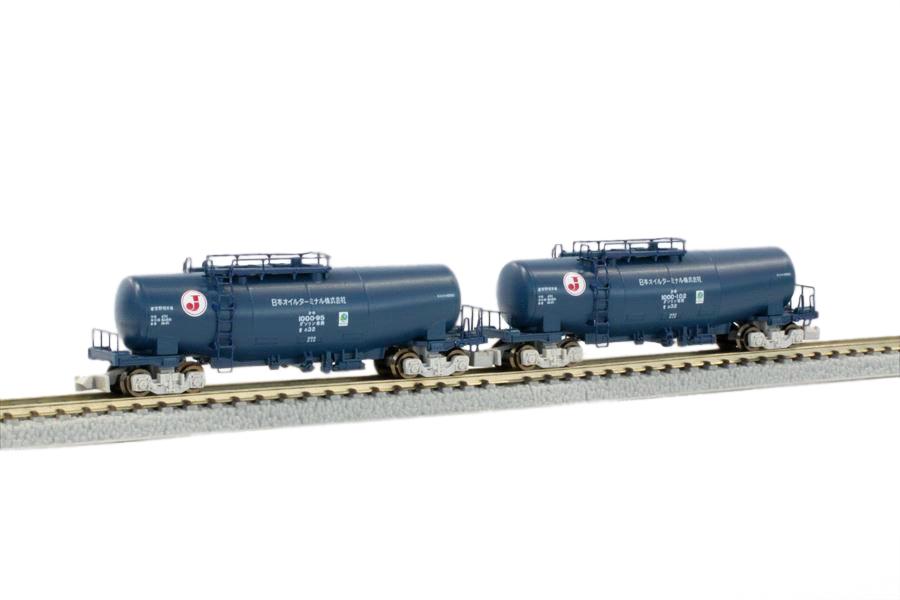 T004-3 タキ1000 日本オイルターミナル色(エコレールマーク) 2両セット
