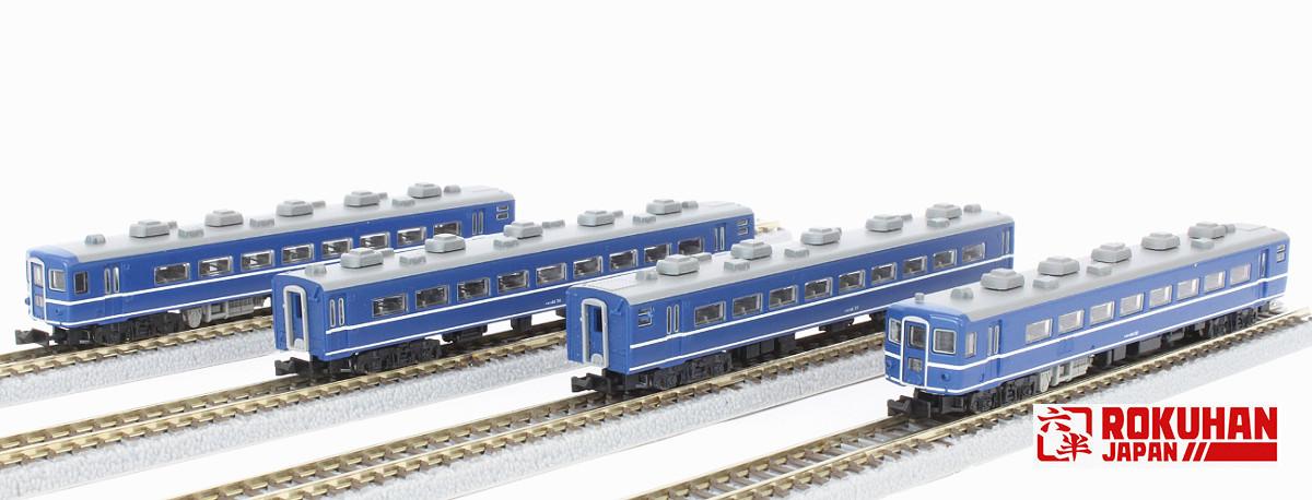 T006-1 国鉄 14系特急形客車 4両基本セット