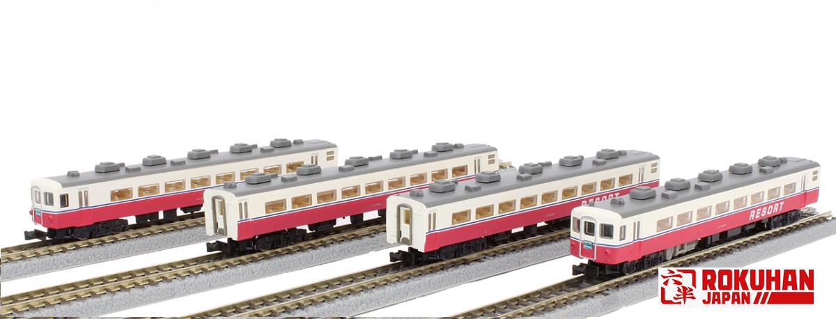 T006-4 14系特急形客車 リゾート 4両セット