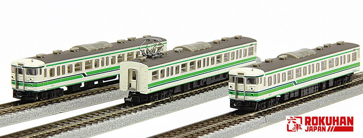 T011-4 115系1000番代 新潟色 3両セット