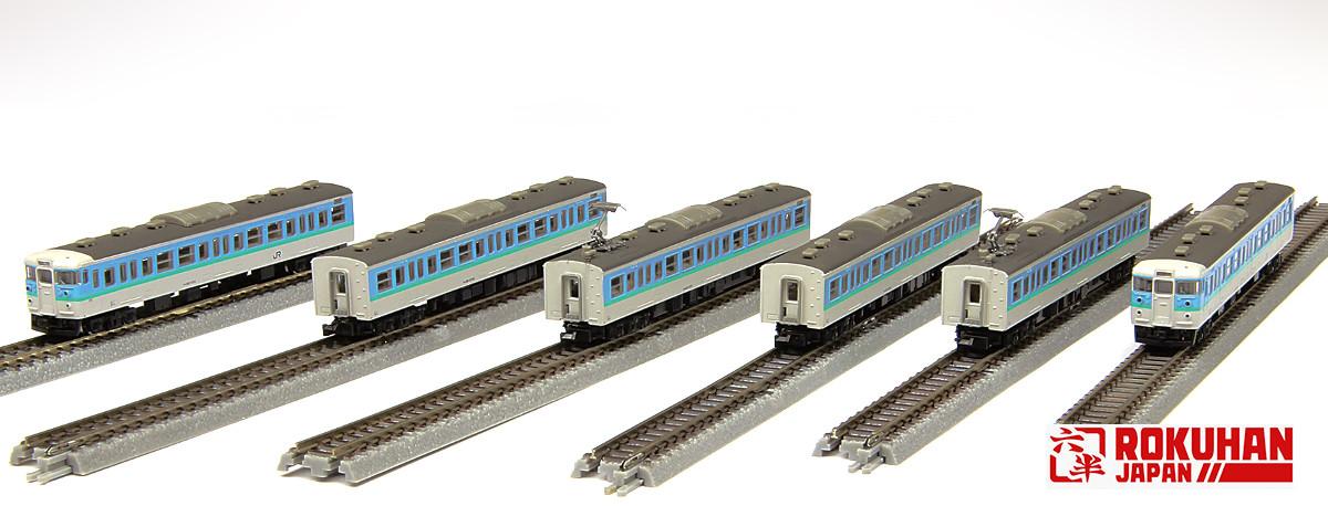 T011-9 115系1000番代 長野色 6両セット