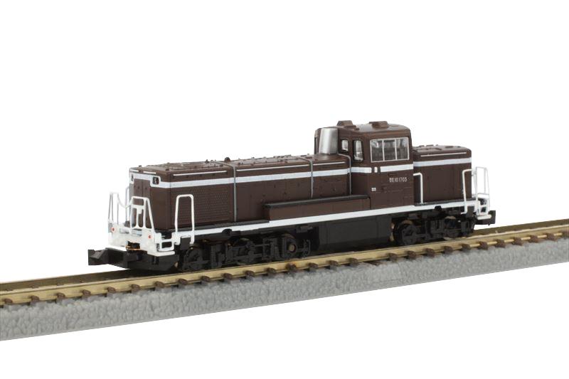 T012-8 DE10 1705 茶色塗装
