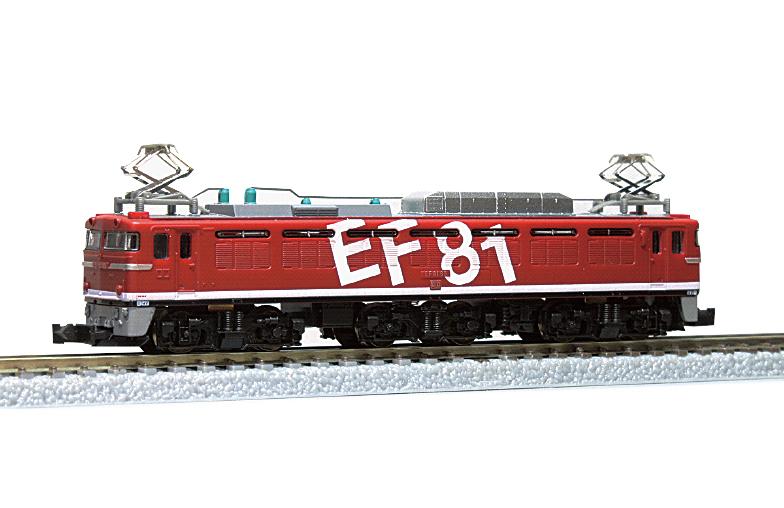 T015-3 EF81電気機関車 レインボー塗装 95号機