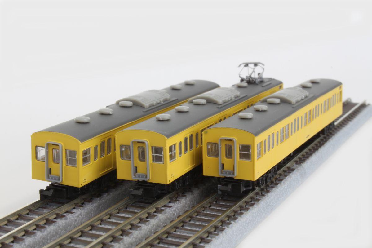T022-4 国鉄103系 カナリア総武線タイプ 3両増結セット
