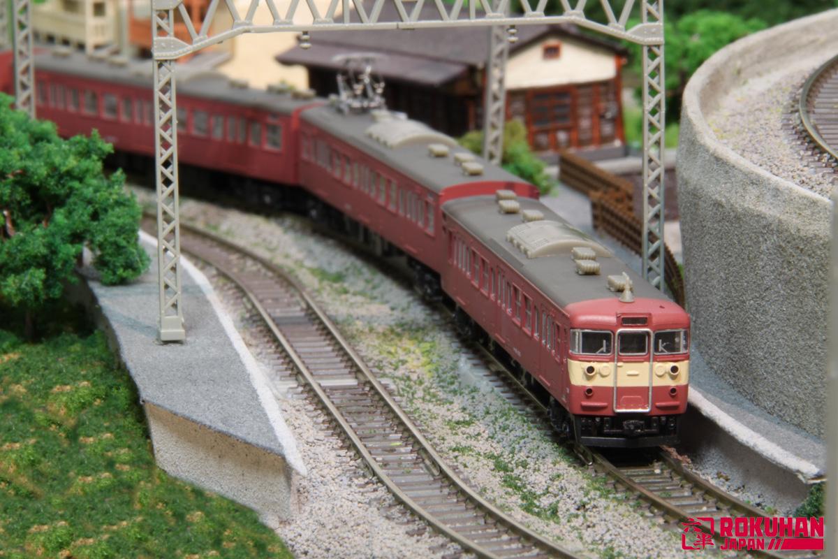 T023-2 415系旧塗装タイプ 4両セット
