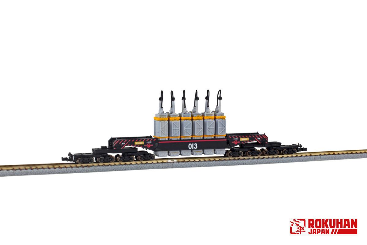T037-2 シキ880形 大物車 B2梁 超高圧通常変圧器輸送